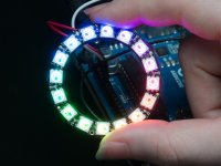 NeoPixel Ring Anillo 16 Leds RGB con Driver