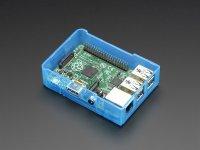 Caja Traslúcida Azul para Raspberry Pi Model B+ Pi 2 Pi 3 Base