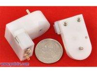 120:1 Mini Plastic Gearmotor Offset 2mm Spline Output