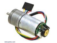 172:1 Metal Gearmotor 25Dx56L mm LP 12V with 48 CPR Encoder