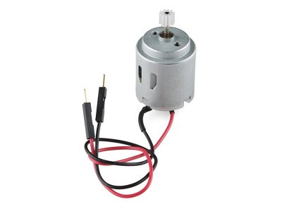 Motor CC con Engranaje
