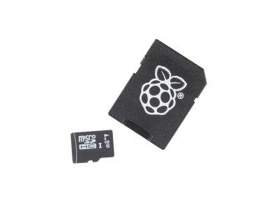 Tarjeta MicroSD 16GB NOOBS Raspbian Clase 10
