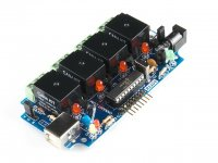 USB Relay Controller with 6 Channel I/O