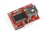 Programador-Conversor USB Serie FTDI Sparkfun
