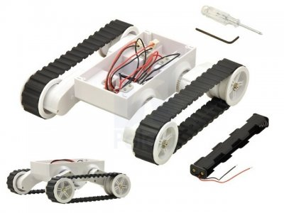 Chasis Motorizado Robot Oruga RP5