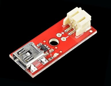 Cargador Baterías Ion Litio (LiPo) Mini USB Sparkfun