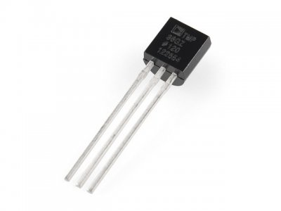 Sensor de Temperatura Analógico TMP36