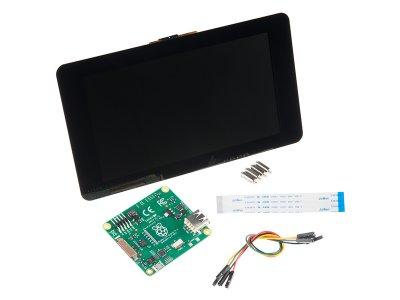 """Pantalla 7"""" con Touchscreen para Raspberry Pi"""