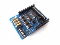 Arduino Shield Control Relés con 4 Optoacopladores