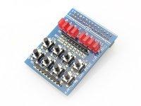 Kit 8 Leds 8 Botones para Raspberry Pi