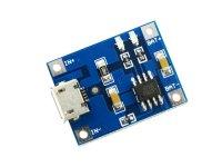 Cargador Baterías Ion Litio (LiPo) Micro USB