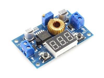 Conversor CC Bajada 1.25-35V con Voltímetro