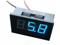 Voltímetro 4.5-30V DC