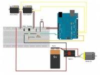 Kit Extintor Controlado por Arduino sin Arduino UNO ni Bomba