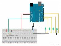 Kit Iluminación Constante Controlado por Arduino sin Arduino UNO