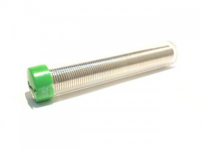 Estaño en tubo de 1mm. 17gr.