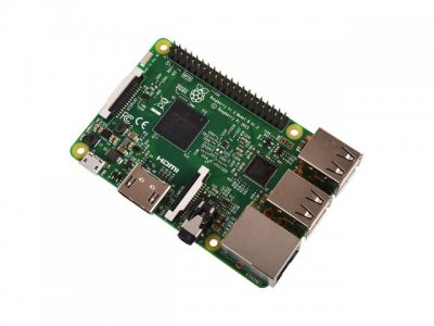 Raspberry Pi 3 Model B con WiFi y Bluetooth