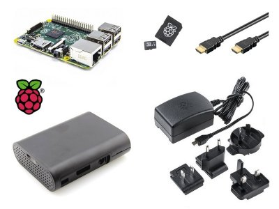 Kit Raspberry Pi 3 con Caja, Alimentador, MicroSD y HDMI