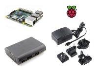 Kit Raspberry Pi 3 con Caja y Alimentador Oficial
