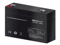 Bateria de plomo sin mantenimiento 6V 12AH 151X50X100
