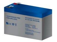 Bateria de plomo sin mantenimiento 12V 7AH 151X65X101