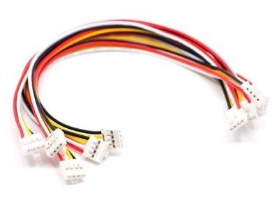 Cables 4 Conductores Shield Conectar y Listo 20cm. 5 ud