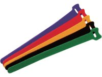 Bridas Multiuso Velcro 150mm 5 colores 15 unidades