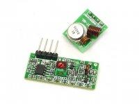 Emisor y Receptor RF 433Mhz
